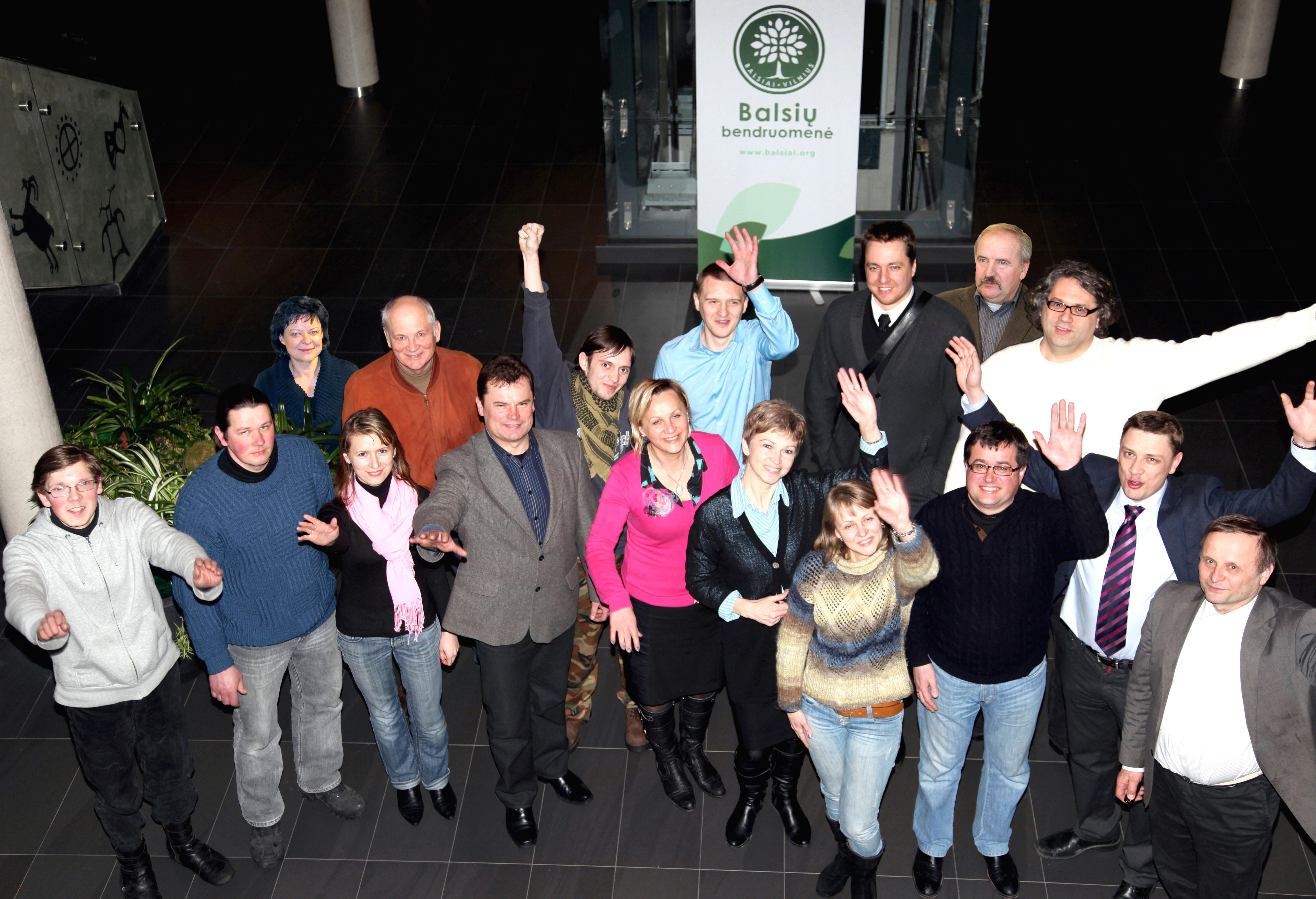 Apsaugota: 2012–02–11–2013–01–26 m. Balsių bendruomenės taryba