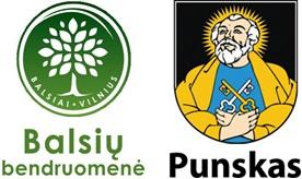 Bendras Balsių bendruomenės ir Punsko valsčiaus logo