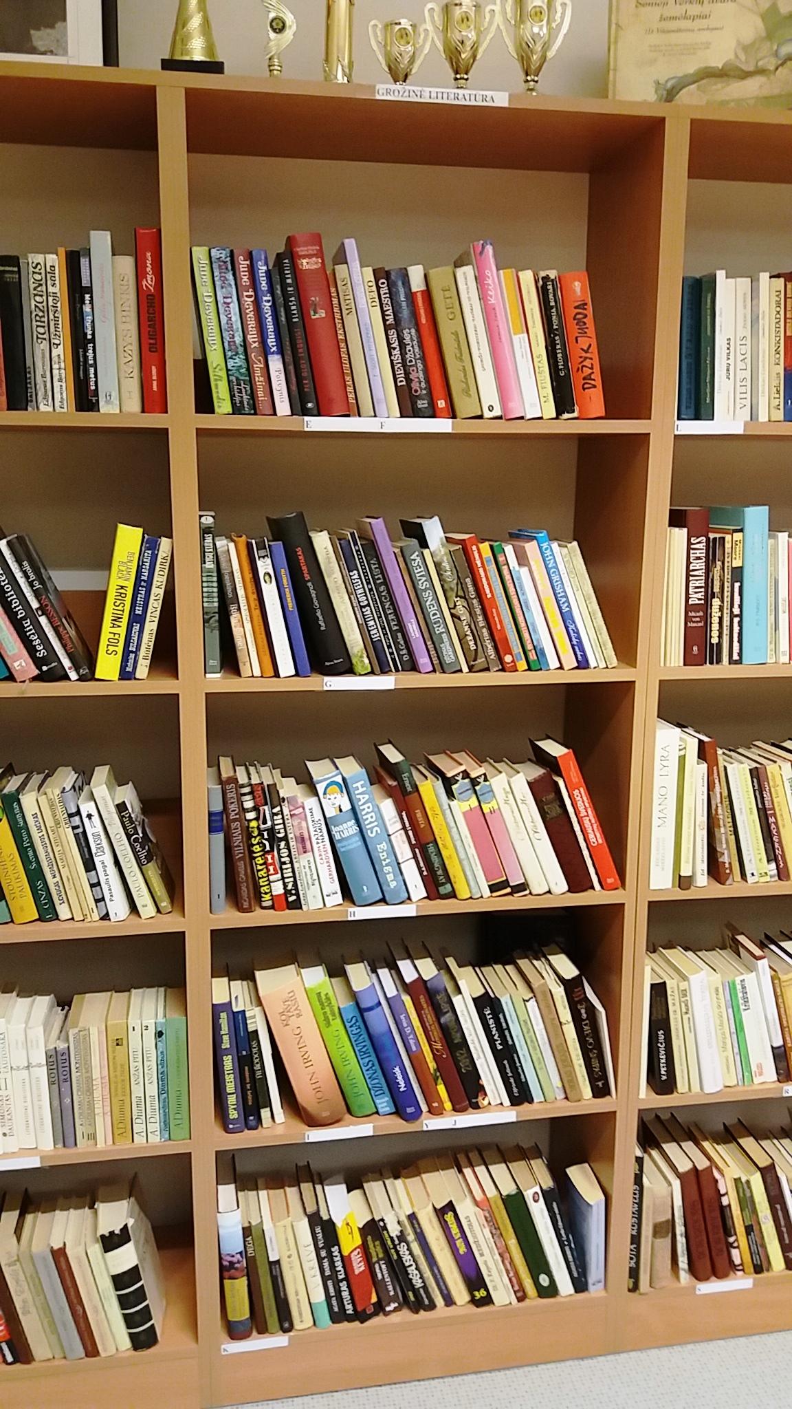Balsių atvirosios bibliotekėlės knygų sąrašas