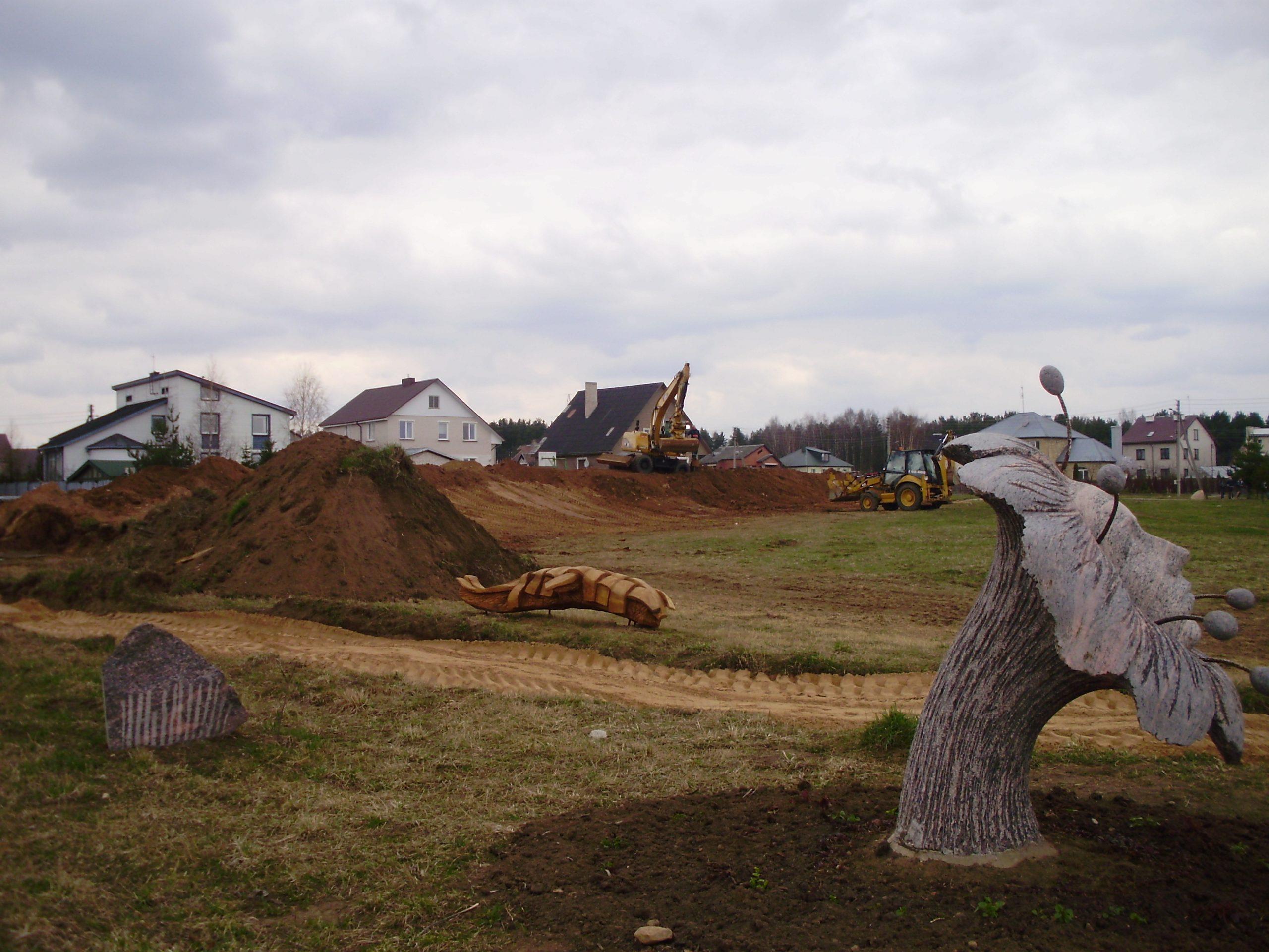 """2008 m. Pilama Balsių """"Mitologinio parko"""" kalva"""