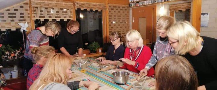 """Kūrybinės keramikos dirbtuvėles, """"30 gerų darbų Lietuvai ir Balsiams"""""""